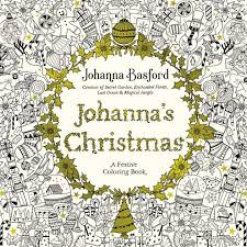 johanna u0027s christmas festive coloring book adults johanna
