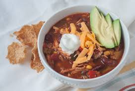 easy slow cooker chicken vegetable chili bite of health nutrition