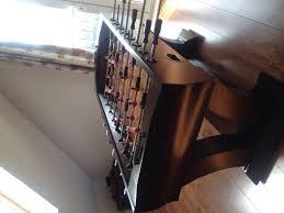 well universal foosball table well universal foosball table dark mahogany veneers 220 00 in