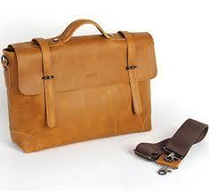 Cowhide Briefcase Polare Men Boy Genuine Crazy Horse Cowhide Leather Business