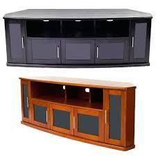 Wooden Cabinet With Glass Doors Corner Tv Unit With Glass Doors Euprera2009