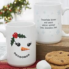 christmas mug snowman character personalized christmas mug 15oz white