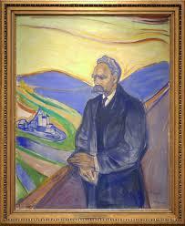 edvard munch 1863 1944 portrait of philosopher friedrich