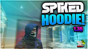 gta 5 online new spiked helmet with hoodie glitch how to get