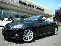 lexus 2010 black 2010 lexus is 250c convertible in obsidian black 501454