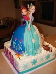 elsa u0026 anna dolly varden style cake learn create cake