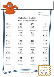 multiplication worksheet u2013 3 digit by 2 digit 4