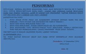 form daftar riwayat hidup pdf scalsa s1 keperawatan pengumuman bagi peserta wisuda 2013