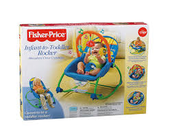 Can Baby Sleep In Vibrating Chair Amazon Com Fisher Price Infant To Toddler Rocker Blue Green