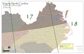Counties Of Virginia Map by Va Nc State Plane And Utm U2014 Urban Forest Strike Teams