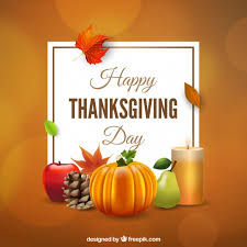 background of elements of thanksgiving vector free