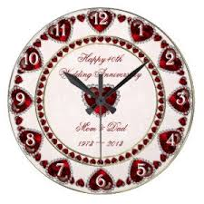 personalized anniversary clocks 25 wedding anniversary clocks personalized anniversary
