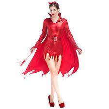 Halloween Costumes Devil Woman Ladies Red Devil Woman Costume Hen Party Halloween