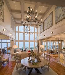 Living Room Recessed Lighting Best Chandeliers For High Ceilings Living Room Beach Style With