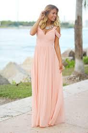 blush maxi dress blush shoulder maxi dress blush maxi dress bridesmaid