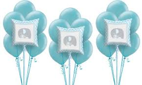 Party City Balloons For Baby Shower - blue baby elephant baby shower party supplies party city