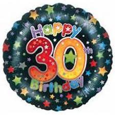 30th birthday flowers and balloons 30th birthday mylar balloon mebane nc florist gallery florist and