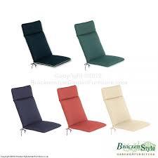 Garden Recliner Cushions For Garden Recliners