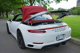 white porsche 911 2017 porsche 911 carrera 4 gts cabriolet review wheels ca