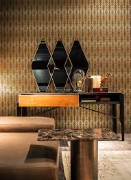inspired decor additions bring in geometric contrast with chic