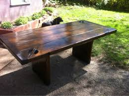hatch cover table craigslist liberty ship hatch cover table woodworking talk woodworkers forum