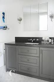 Granite Countertops For Bathroom Vanities Gray Granite Bathroom Countertop Design Ideas