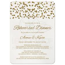 rehearsal dinner invitation rehearsal dinner invitations glamorous glitter look confetti dots