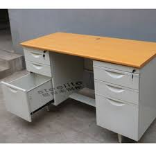 used metal office desk for sale cheap otobi furniture in bangladesh price white laquered office desk