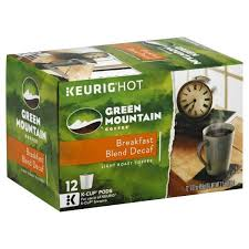 keurig k cups light roast 12 green mountain coffee breakfast blend decaf light roast keurig k