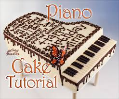 piano cake topper how to make a piano cake