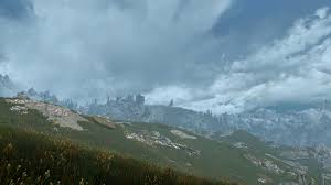 3d clouds heavy storms and real nights at skyrim special edition