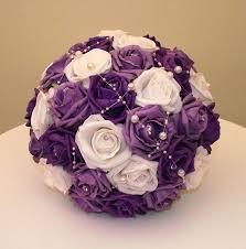 wedding flowers purple best 25 purple flower bouquet ideas on purple wedding