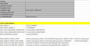 oracle masterminds multiple sheet excel report template