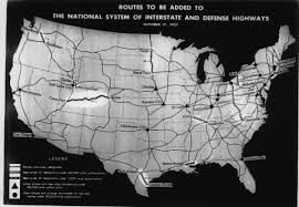Usa Interstate Map by The