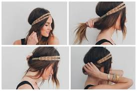 headband roll 15 easy hairstyles for lazy
