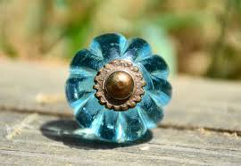 colored glass cabinet knobs blue glass knob blue cabinet knob blue drawer pull glass drawer knob