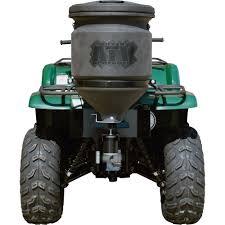 buyers 12 volt atv spreader u2014 15 gallon capacity model atvs15