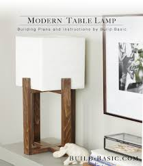Wooden Table Png Build A Modern Table Lamp U2039 Build Basic
