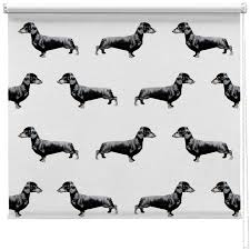 Dog Blinds Dachshund Sausage Dog Pattern Blind Picture Printed Blinds At