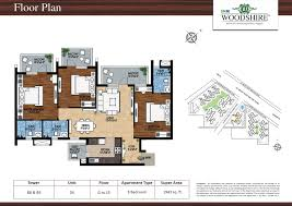 study room floor plan the m3m india ltd has launched the u201cwoodshire u201d sector 107 gurgaon