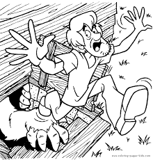 scooby doo colouring pages scooby doo color page cartoon