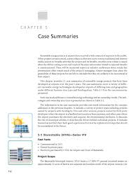 chapter 5 case summaries renewable energy as an airport
