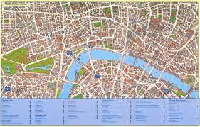 best tourist map of best tourist map of major tourist attractions maps