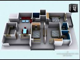3d walkthrough apartment interior youtube