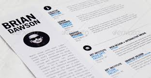 Best Resume Template Ever The 41 Best Resume Templates Ever Graphicriver 5 Indesign Indd