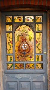 Exterior Glass Front Doors by Modern Stained Glass Front Door Inspiration Design Stained Glass