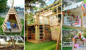 Backyard Clubhouse Plans by 16 Fabulous Backyard Playhouses Sure To Delight Your Kids