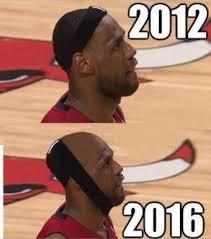 Lebron Hairline Meme - lebron s hairline fixed sports