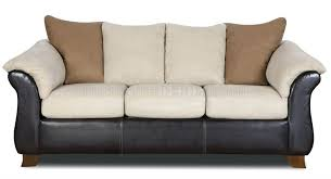 Leather Or Microfiber Sofa by Loveseat Combo Microfiber Sofa Loveseat Set W Dark Bonded