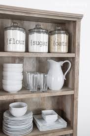 Glass Canisters Kitchen Kitchen Style White Kitchen Wares And White Subway Tile